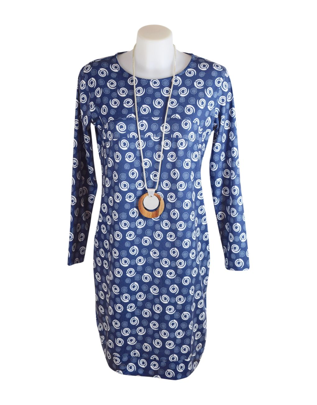 Alice Collins Flora Tunic Swirl Dot Dress 20 XXXL