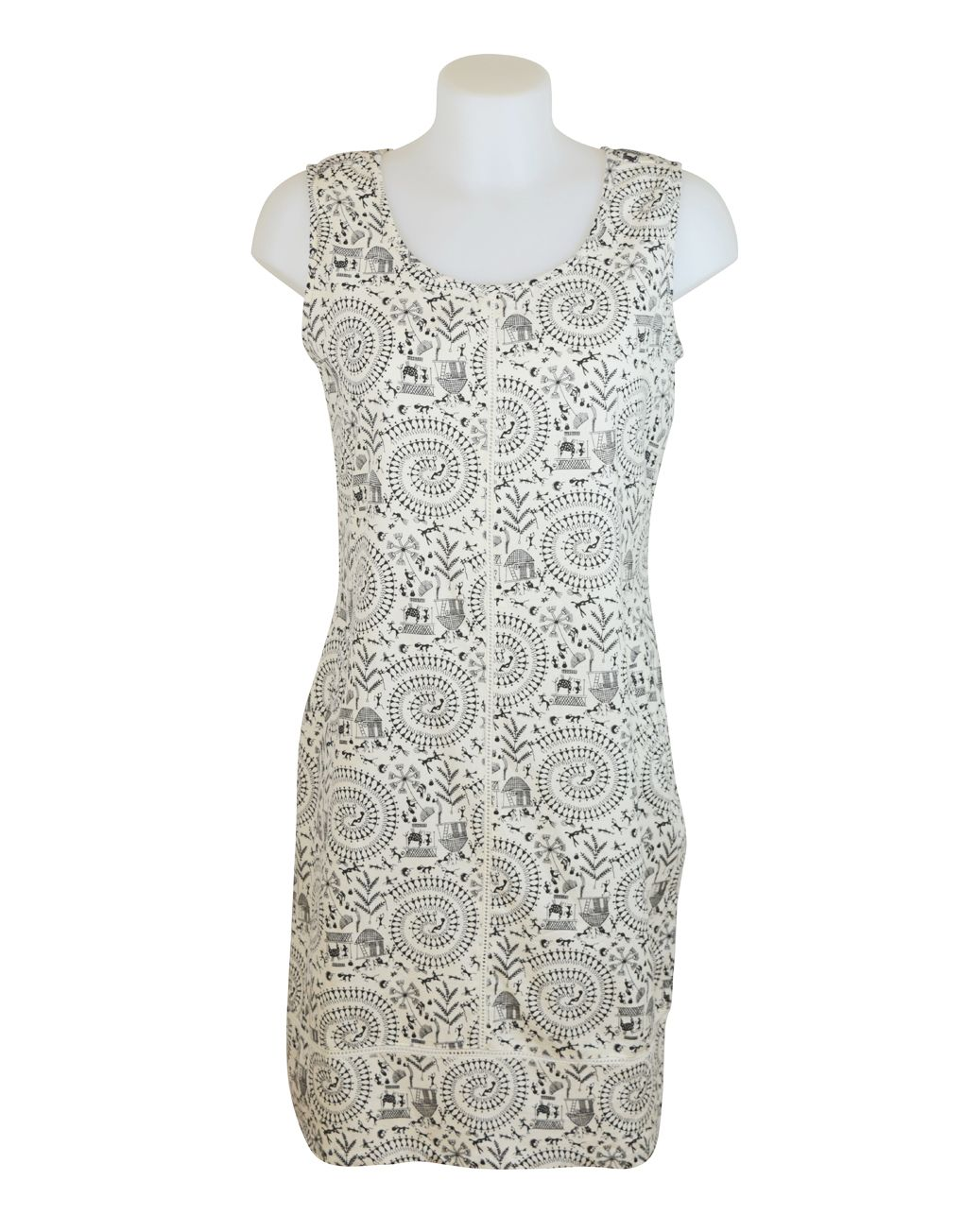 Alice Collins Harriet Tribal Dress 8 XS