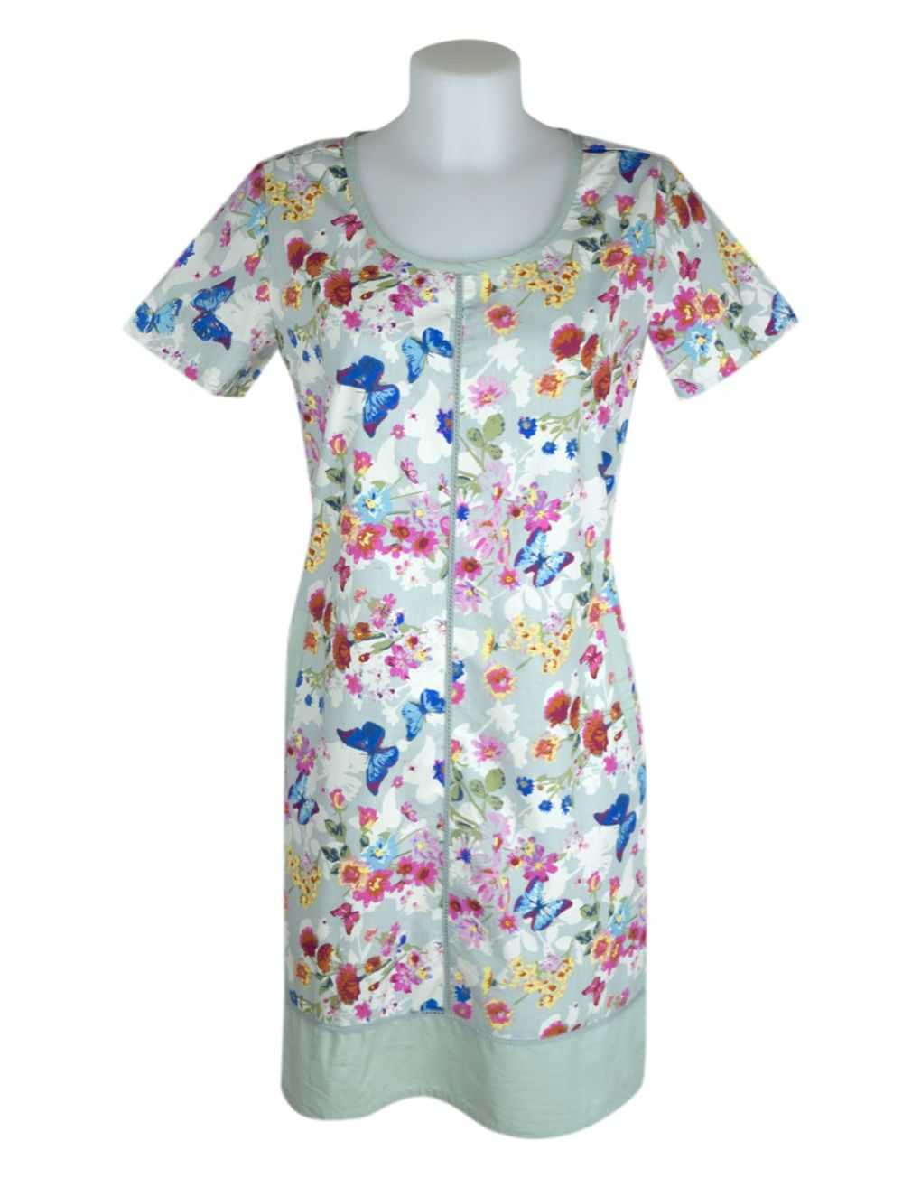 Alice Collins Jenna Dress Floral Butterfly 16 XL