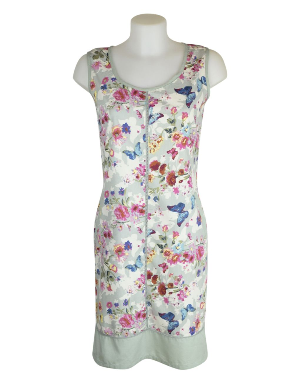 Alice Collins Harriet Dress Floral Butterfly 8 XS