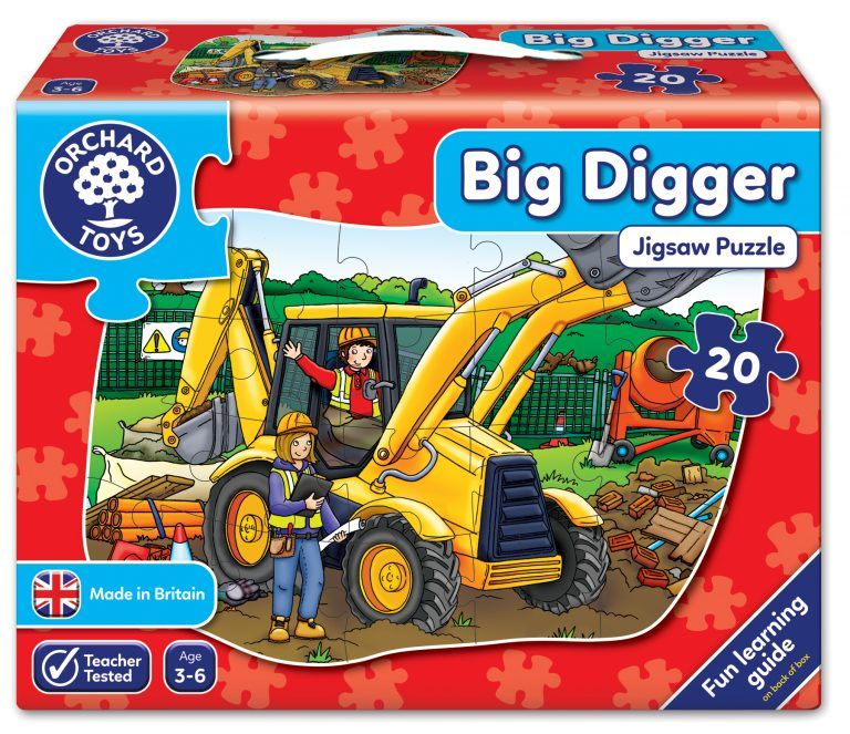 Big Digger by Orchard Toys