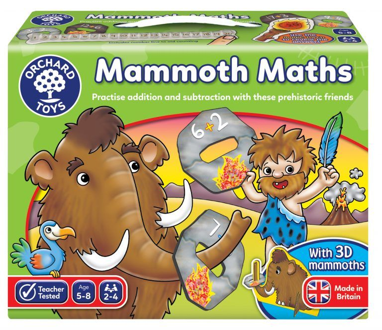 Mammoth Maths by Orchard Toys