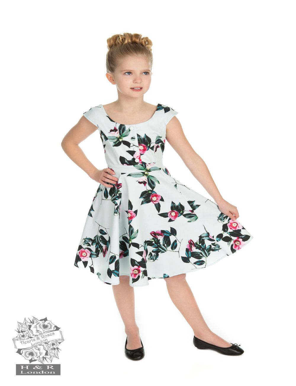 H&R Children's Mademoiselle Retro Dress 3-4 Years