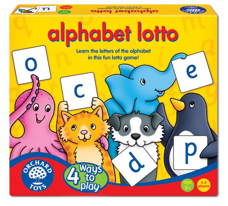Alphabet Lotto by Orchard Games