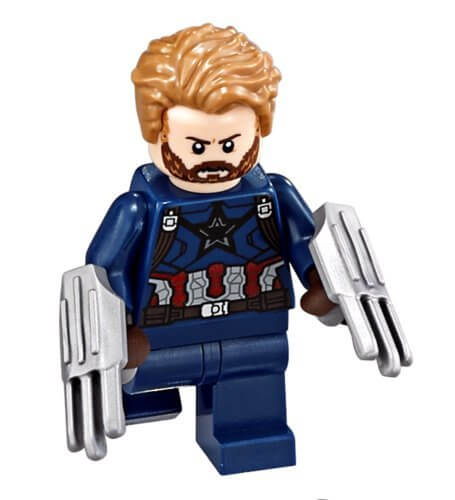 LEGO Super Heroes CAPTAIN AMERICA Minifigure from 76101