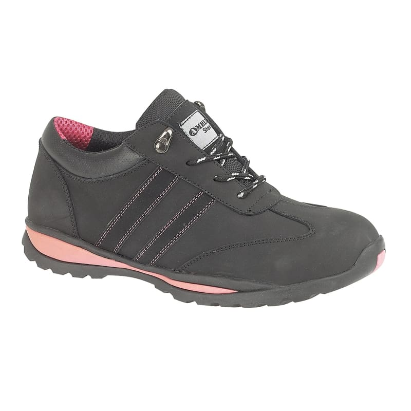 Amblers Steel FS47 S1-P Trainer - 19342-29791 Black - 3