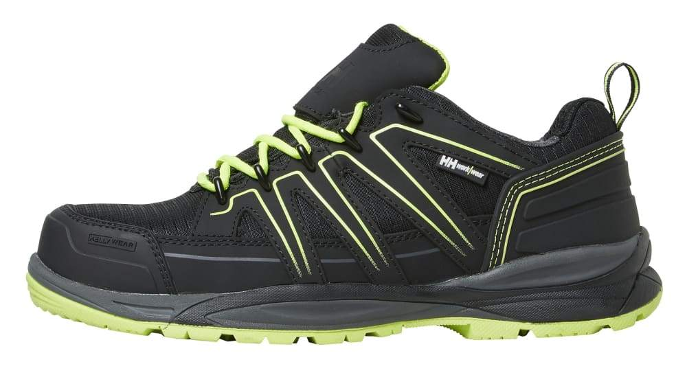 Helly Hansen Add Vis Low Composite S3 safety trainer shoe- 78233 Black/Yellow - 36