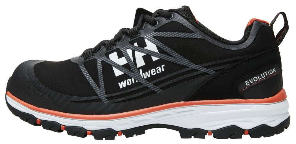 Helly Hansen Chelsea Evolution Low Safety trainer S3 Lightweight Aluminium Toe C.. BLACK/ORANGE - 36