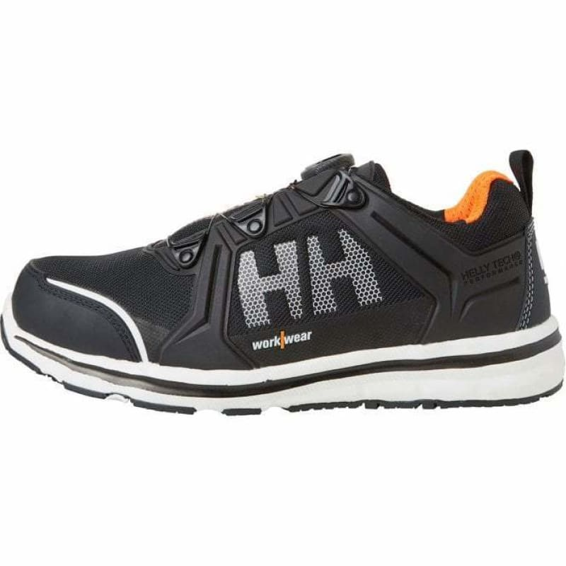 Helly Hansen Oslo Low Safety Trainer Boa fastening S3 Lightweight WP- 78228 Black/Orange - 40