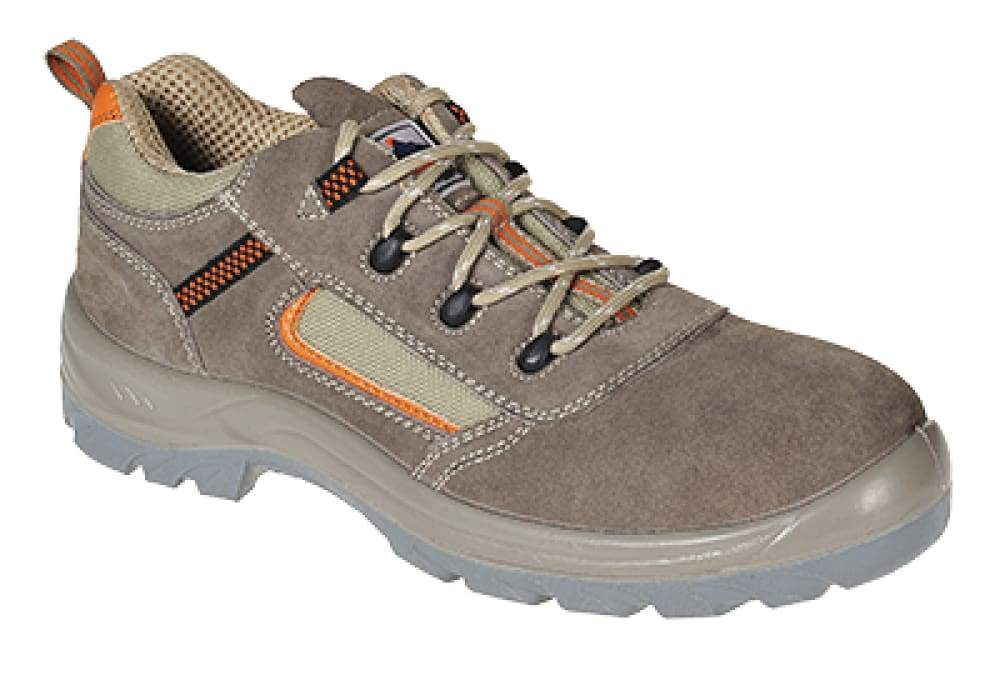 Portwest Composite  Reno Safety Trainer S1P - FC52 Beige - 38