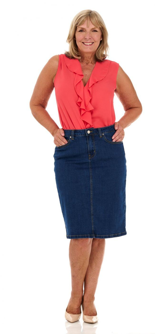 Essential Denim Skirt