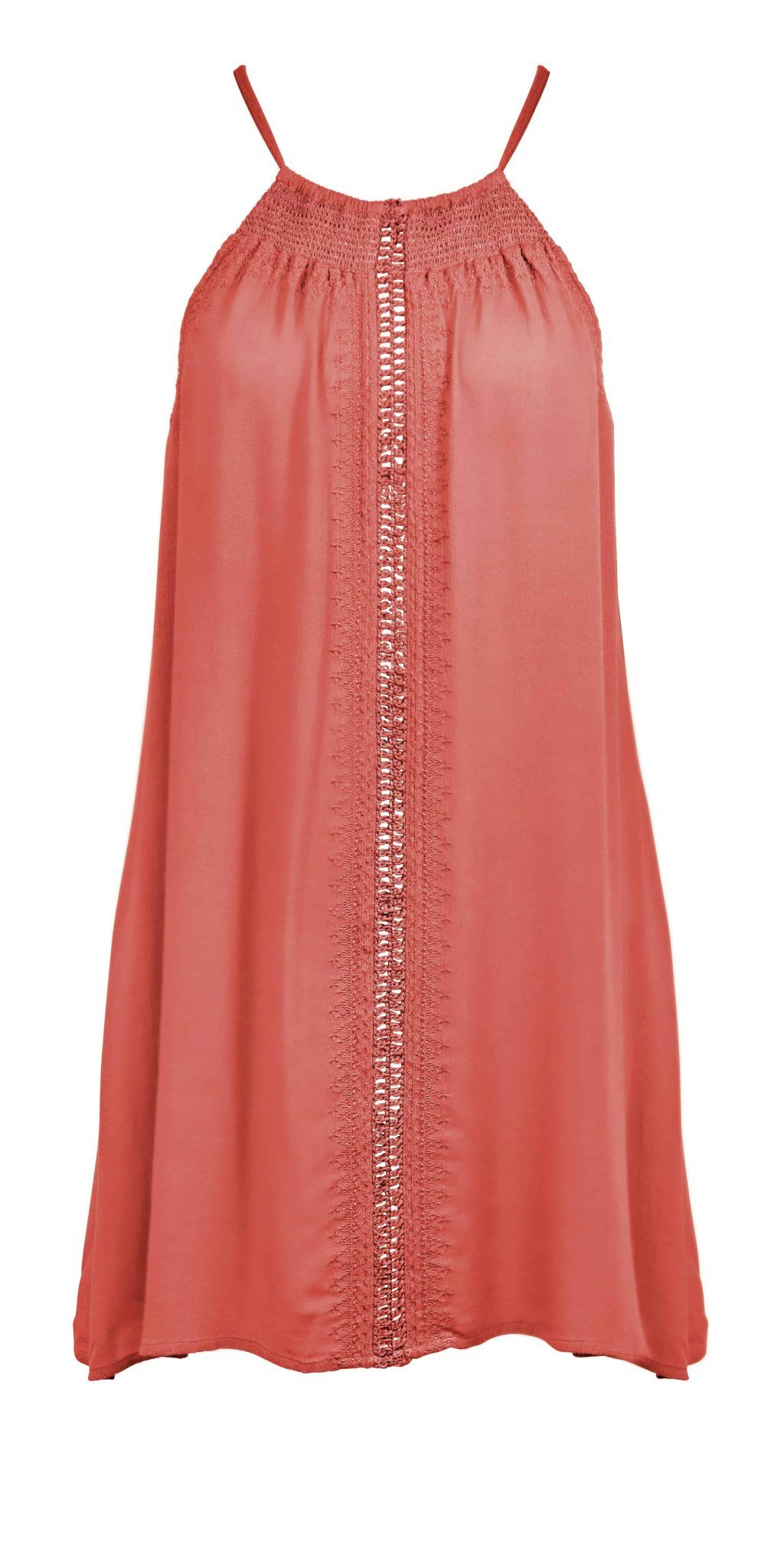 Watercult Summer Solids Dress in Watermelon l