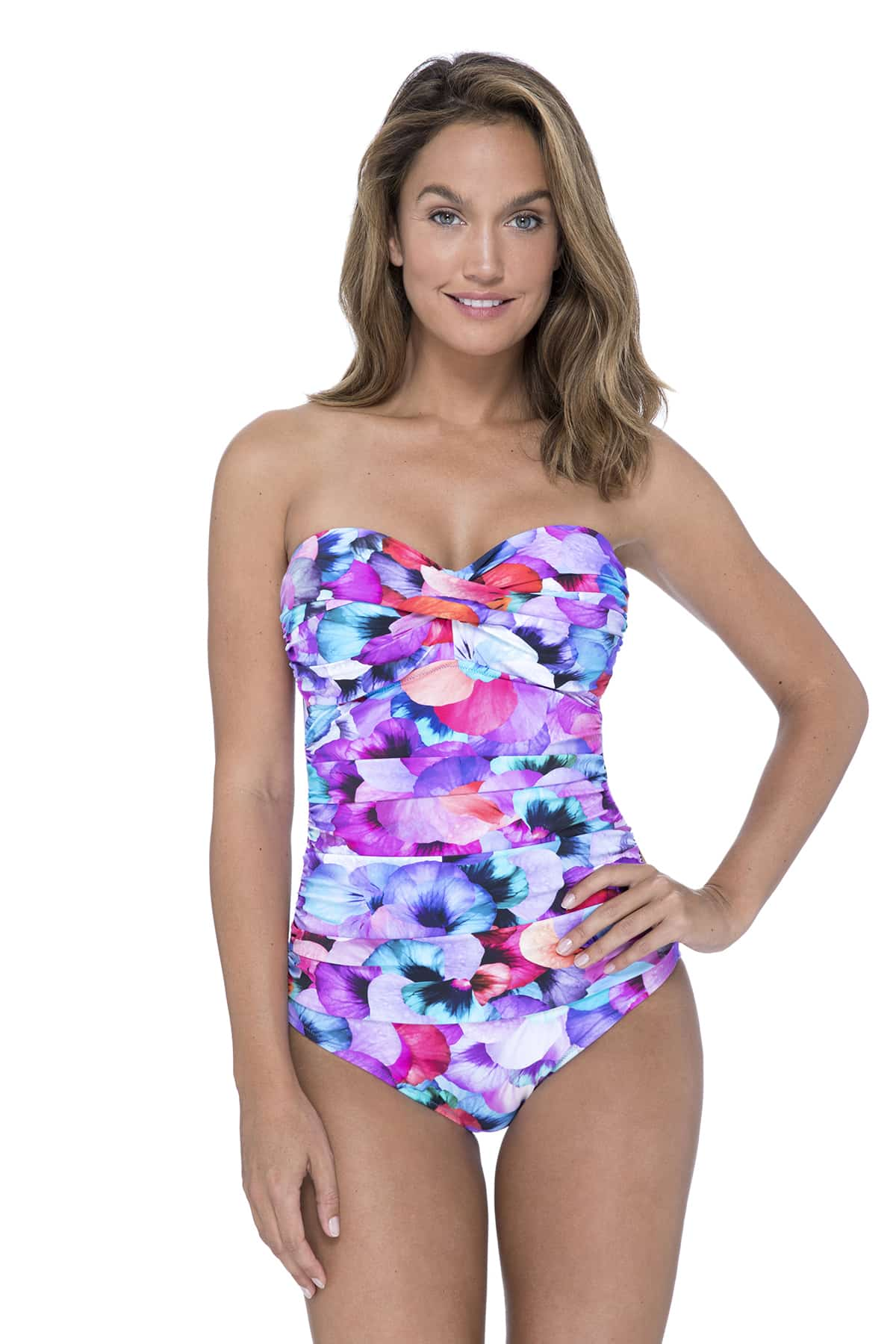 Gottex Profile Pocket Full Of Posies Swimsuit in Multi 12
