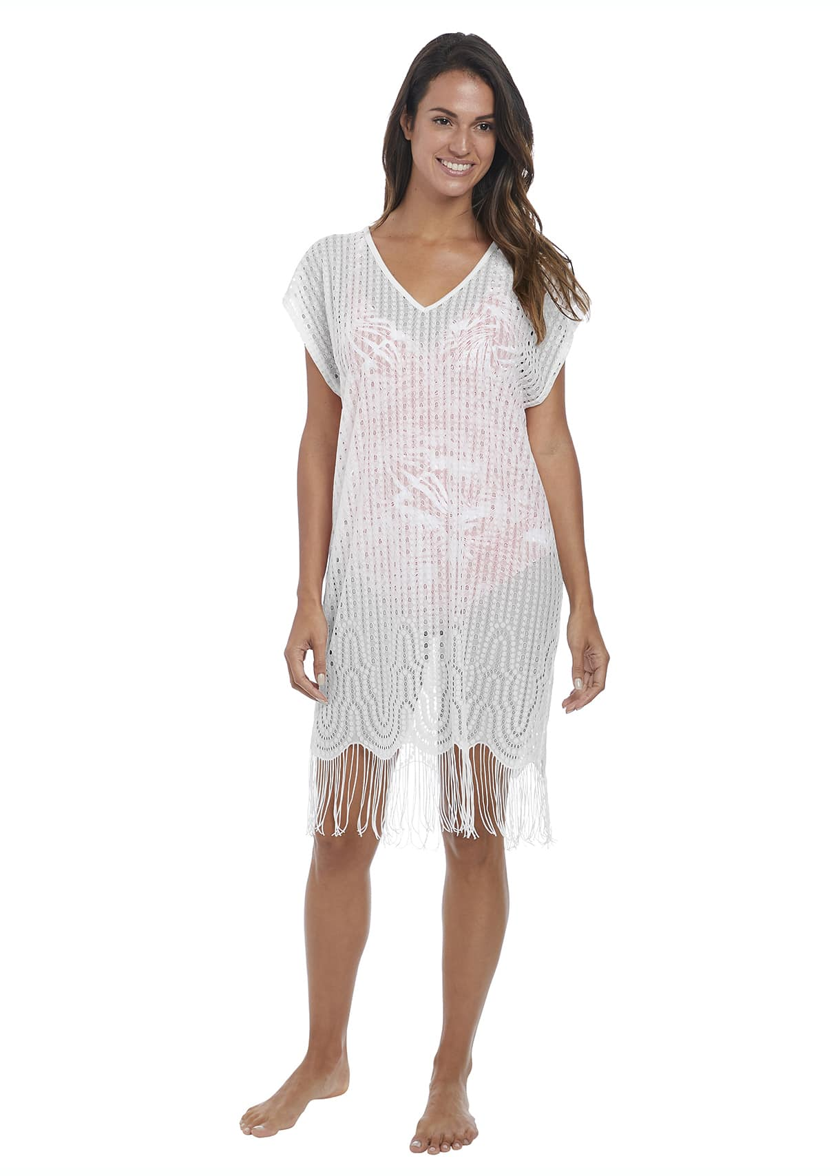 Fantasie Antheia Tunic in White m