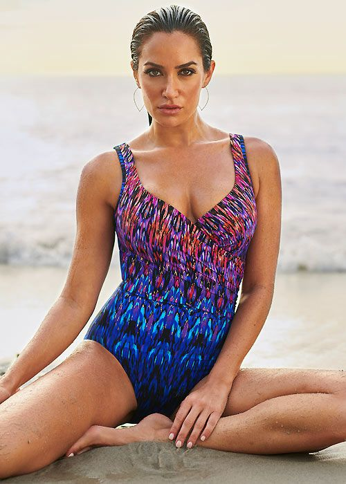 Miraclesuit Vesuvio It's A Wrap Swimsuit in Multi 12