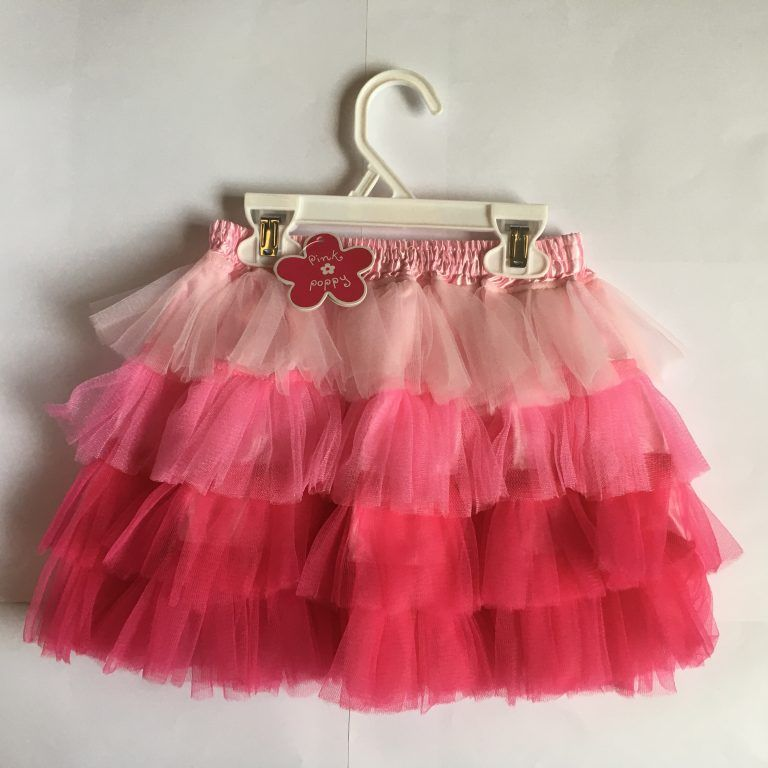 Bubbly and Bold Frill Skirt by Pink Poppy